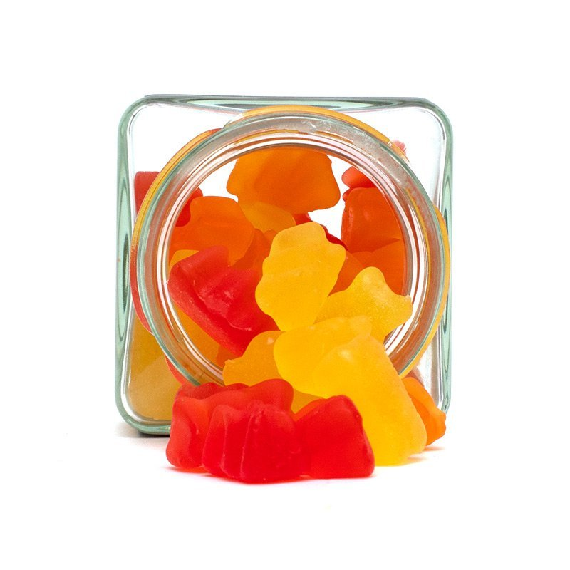 gummy bears from top